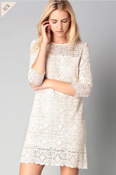 Robe bash blanche