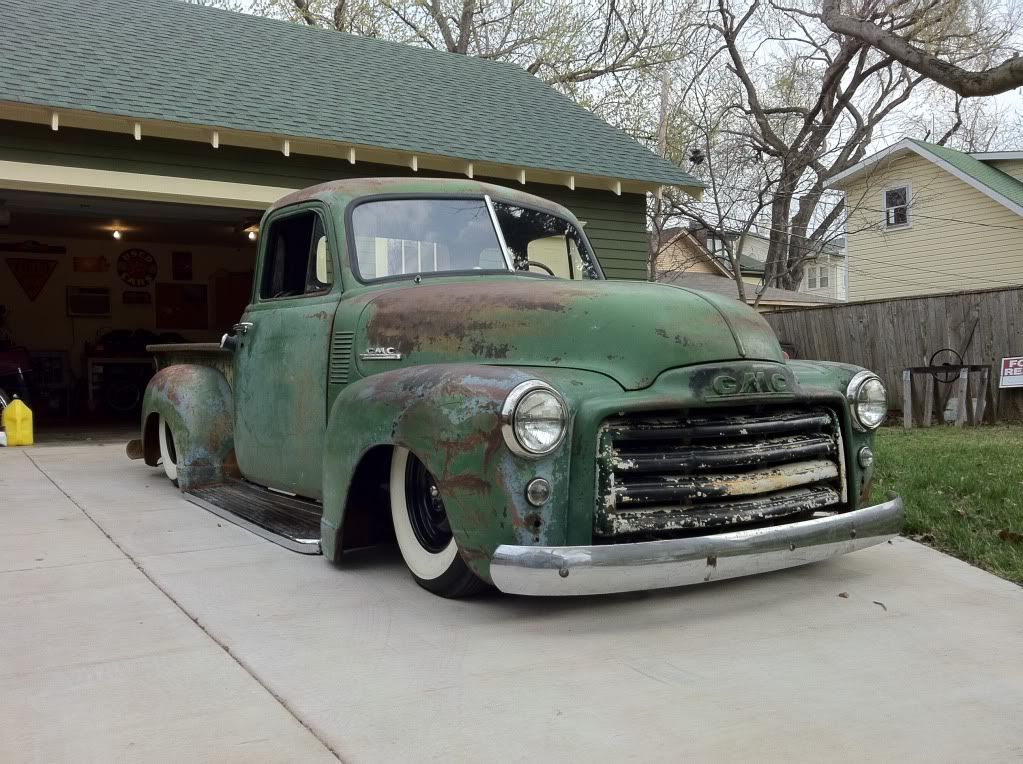 Features 48 54 Chevy Gmc Trucks Lets See Em All Page 43 The H A M B Rat Rod Rat Rods Truck Gmc Trucks