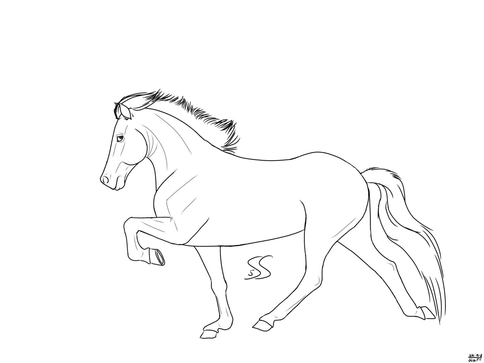 Horse Coloring Page Animal Coloring Collection Of Animal Coloring Pages For Teenage Printable That You Can Horse Coloring Pages Coloring Pages Horse Coloring [ 1237 x 1759 Pixel ]