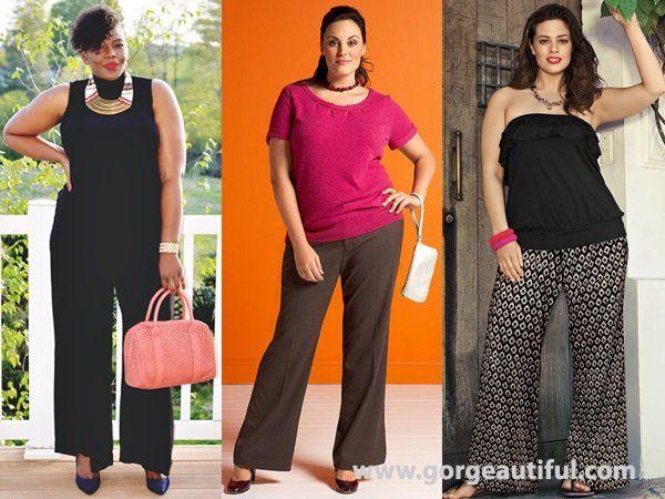 Plus Size Flare Pants For Summer Full Figured Fashion Pinterest