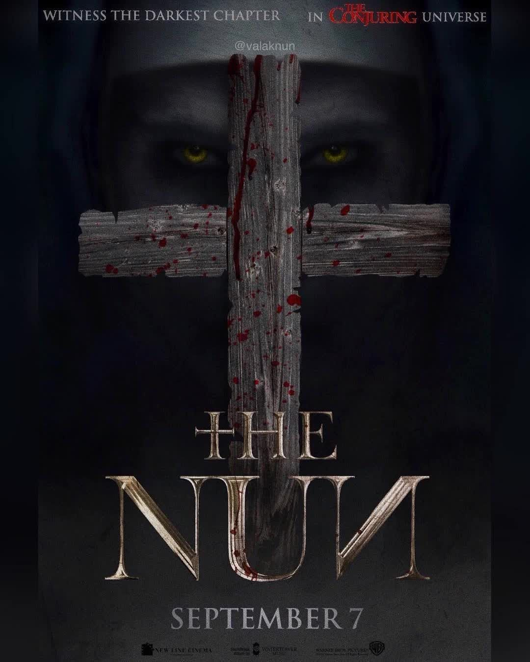 The Nun Artwork Thenunmovie Follow Me