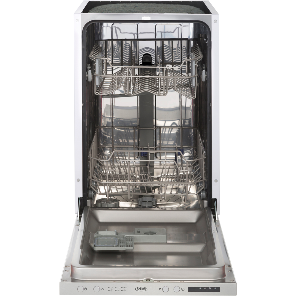 Belling Idw45 Fully Integrated Slimline Dishwasher Stainless
