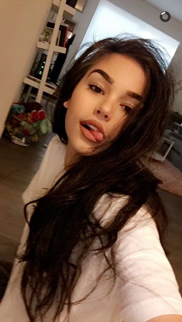 icons, brown hair, tumblr, maggie lindemann, snapchat | make.up ...