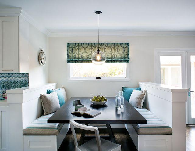 Fixed seated area comedor diario Pinterest - kleine eckbank für küche