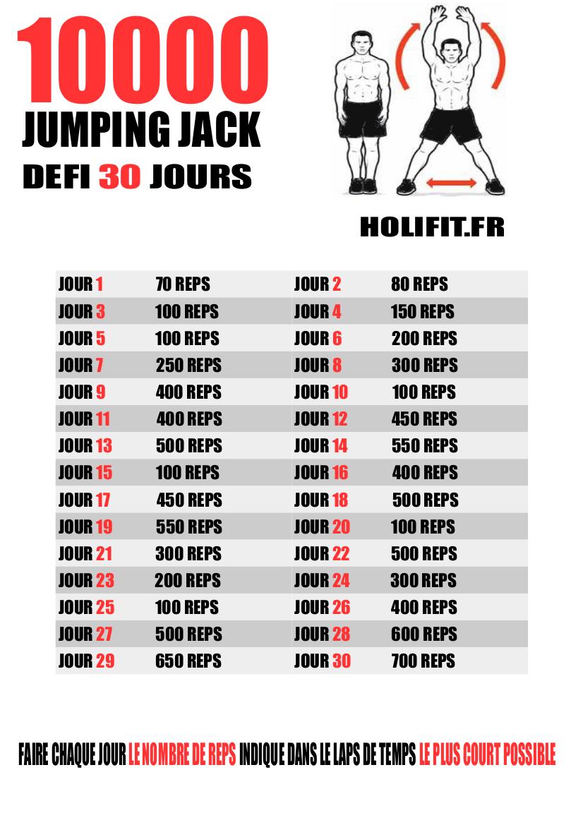 Le défi 30 jours est un challenge de fitness qui va booster votre  motivation. HOLIFIT e1aed79b9ff