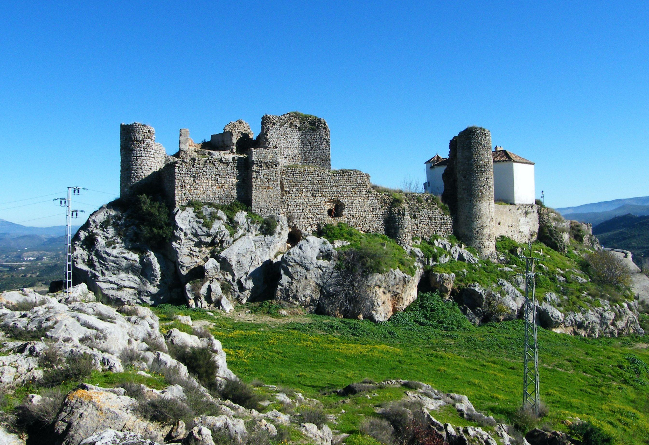 CASTLES OF SPAIN - Castillo de Carcabuey, Cordoba. Castillo del ...