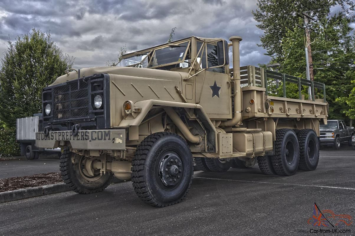 1984 AM General M923 6x6 - Military /Cargo Truck for sale ...