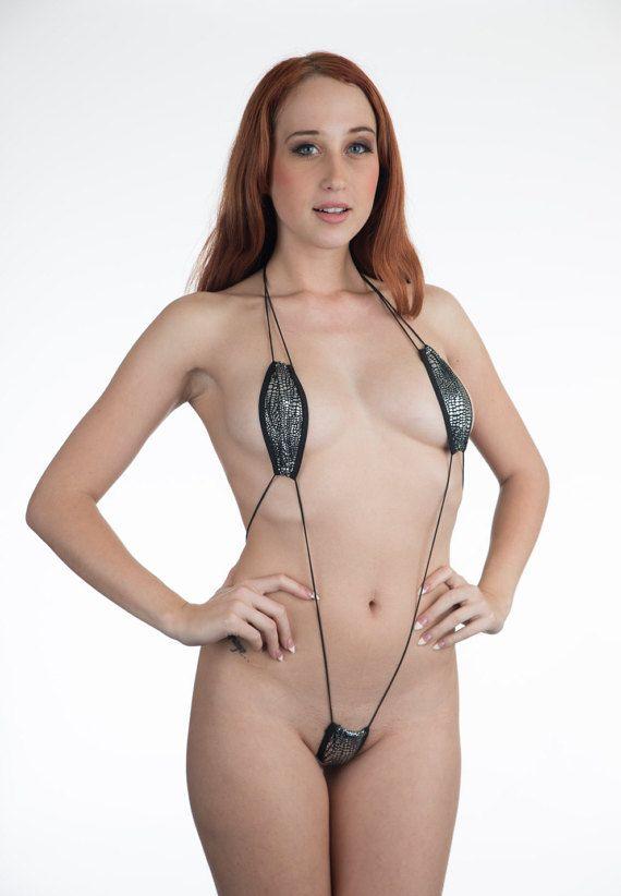 90e9b6d939cf Sexy Mini Micro Teardrop G-String Thong Bikini. 2 Piece Micro G Bottomi &  Mini Teardrop Top. Extreme Tan, Fun, Flirty Sexy , Model, Hot, Minimal