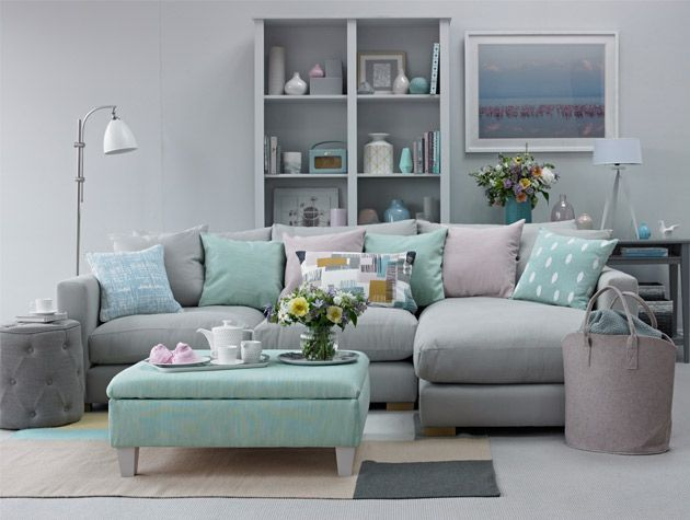 Soothing Pastel Living Room Scheme 1 Home Sweet Home Pinterest