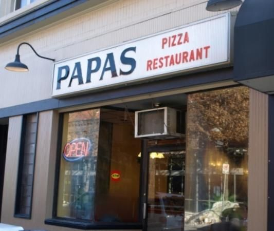 Papas Pizza Restaurant Hartford Food Papa Pizza