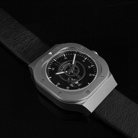đồng hồ The Mach dây da cánh quạt máy bay