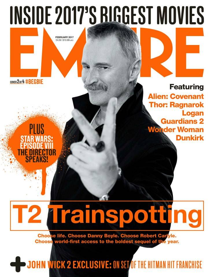 empire trainspotting cover robert carlyle trainspotting  empire trainspotting cover
