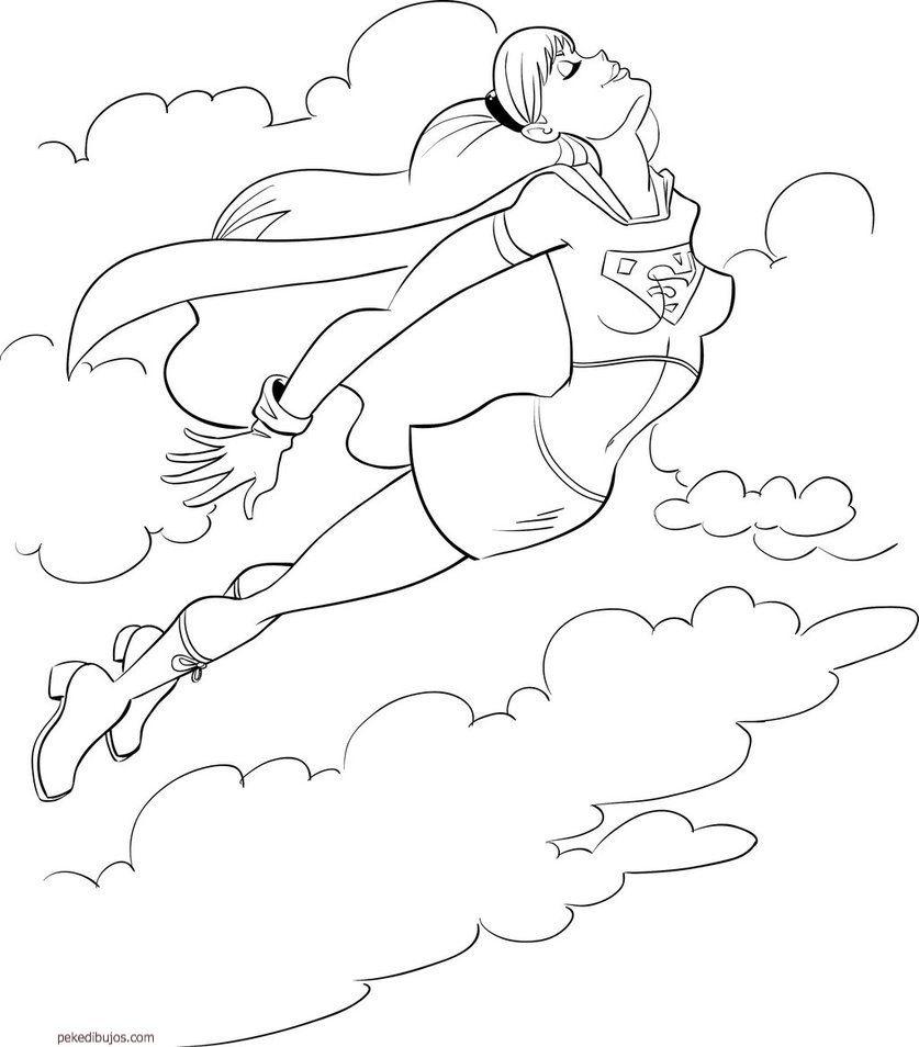 Excelente Superhéroes Para Colorear Colección - Enmarcado Para ...