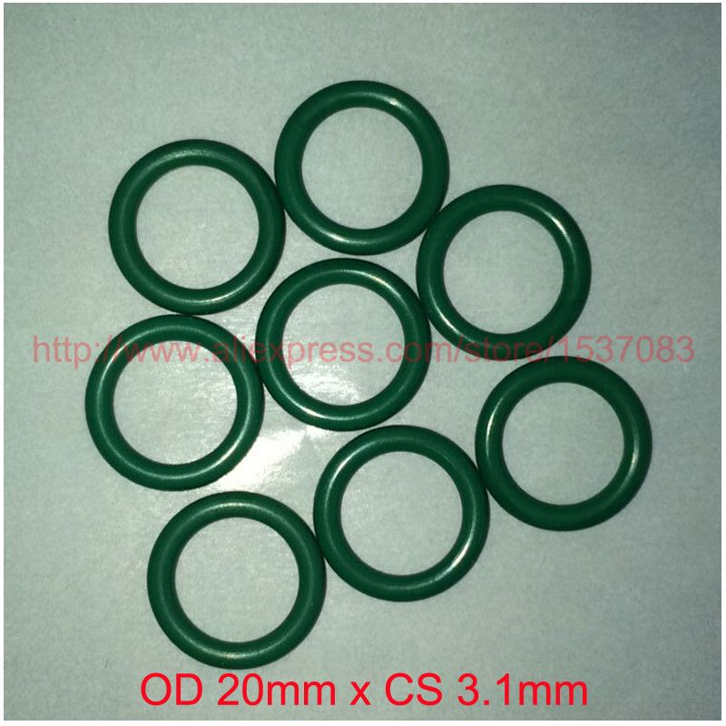 OD 20mm x CS 3.1mm viton fkm rubber sealing o ring oring o-ring ...