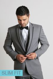 We Love The Black Trim On This Grey Kristoff Tuxedo Get The Look On