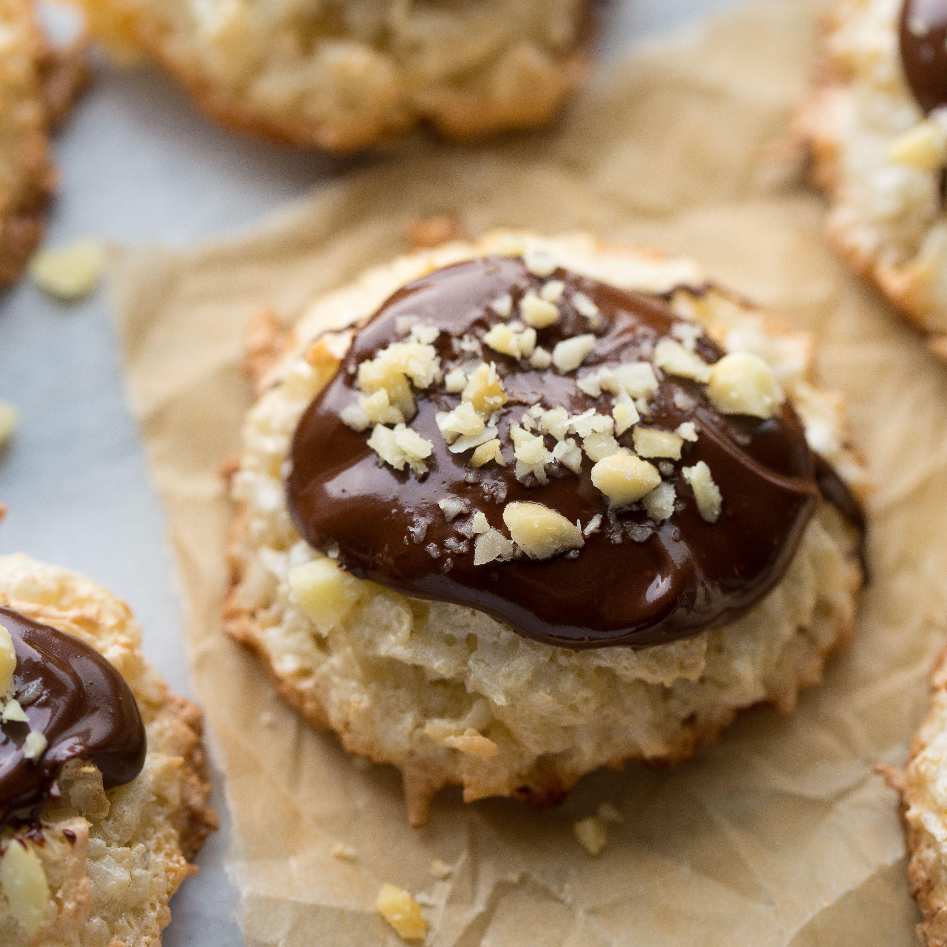 Chocolate Coconut Cloud Cookies {Gluten-Free}