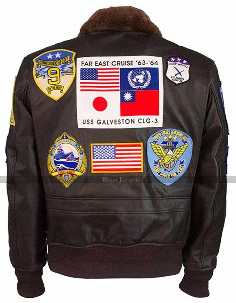 Pin on Top Gun Bomber Jackets for Men