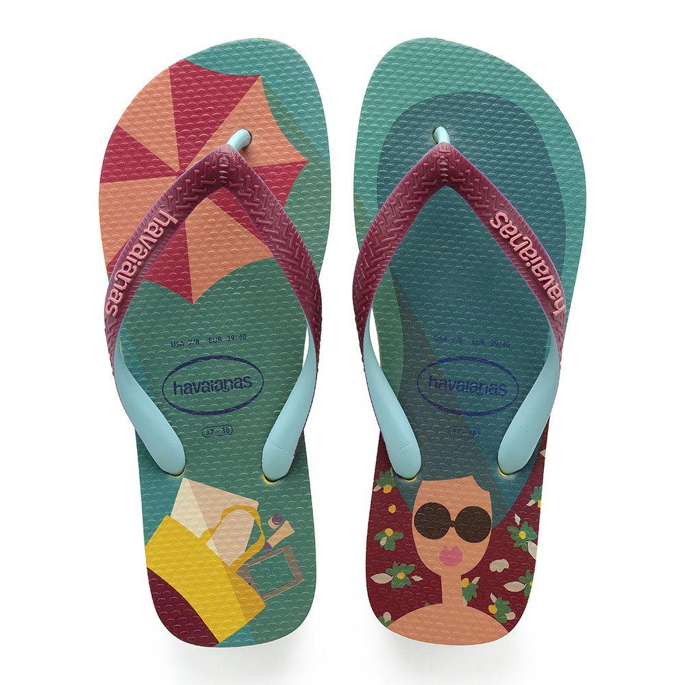 d7b028e60 Havaianas Top Fashion Sandal Petroleum Price From  £17.88