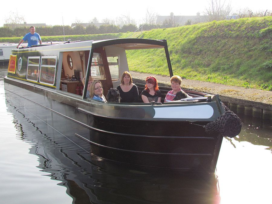 Fox Narrowboats hire canal boats from a marina in March