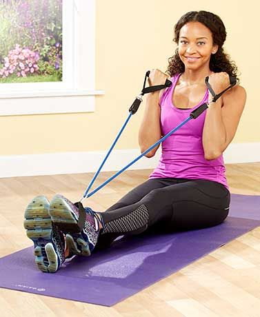 wonder arms™ total arm workout system  resistance band