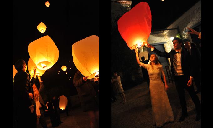 1000 images about pour les jours j de votre vie on pinterest paper lanterns bretagne and maya - Lanterne Volante Mariage