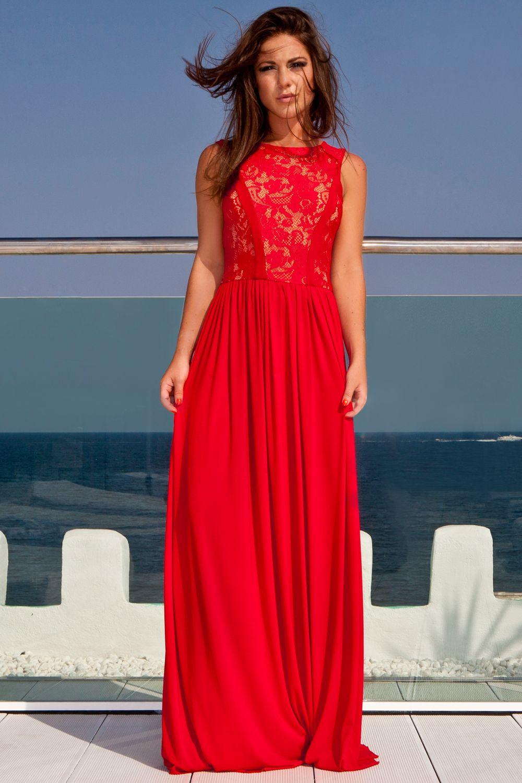 Red Summer Maxi Dresses