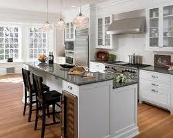 Split/Bi-level kitchen island | Kitchen island with sink ...