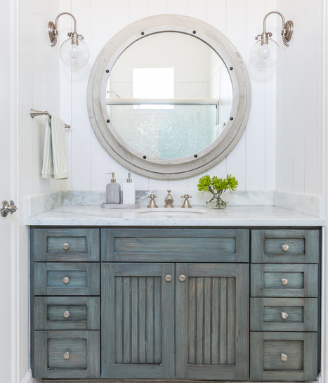 101 Beach Themed Bathroom Ideas! All Designers Credited In Blog Post. Check  Out Nautical