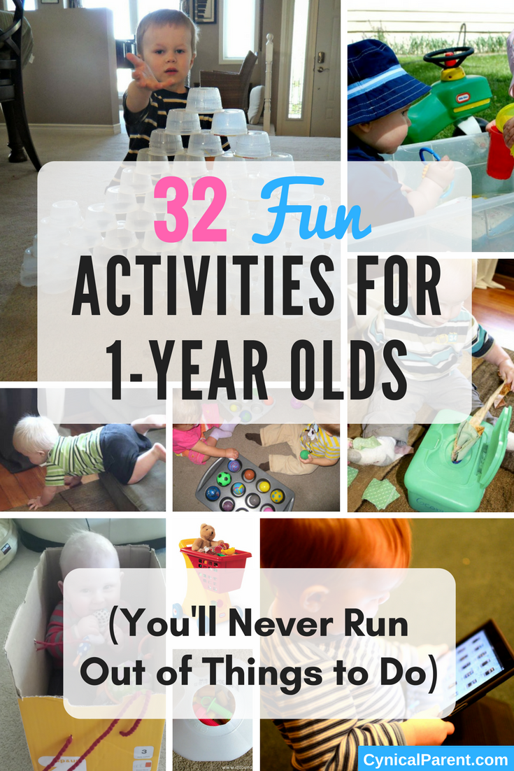 32 fun activities for 1 year olds you ll never run out of things 32 fun activities for 1 year olds you ll never run out of