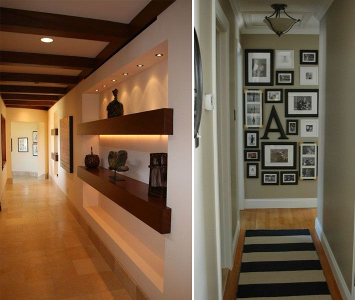 20 ideias pra decorar o corredor da sua casa corredores for Interno s