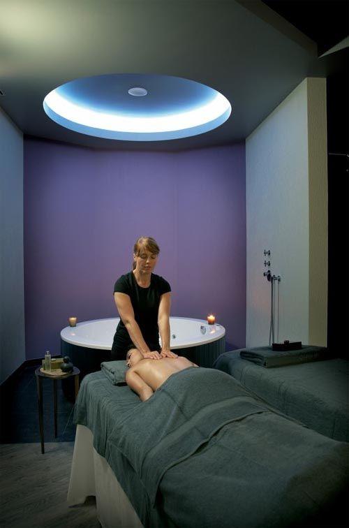 Massage room ideas on pinterest treatment rooms spa for Massage room interior design ideas