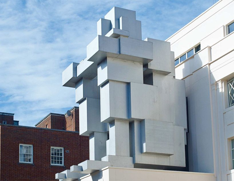 Antony Gormley Stacks Inhabitable Sculpture Suite At Beaumont Hotel In London Beaumont Hotel Beaumont Hotel London Architecture