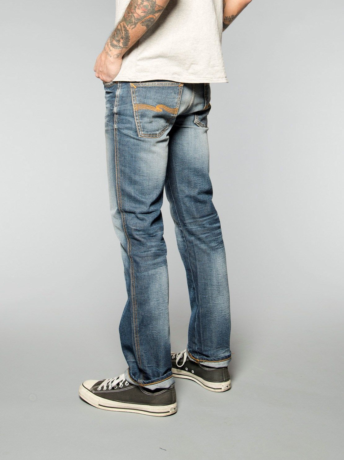d786fad0d96ee4 Slim Jim Organic Martin Replica - Nudie Jeans Co Online Shop | Just ...