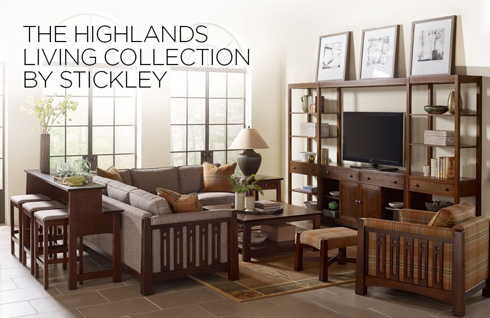 Highlands Living By Stickley Hand Crafted Furniture