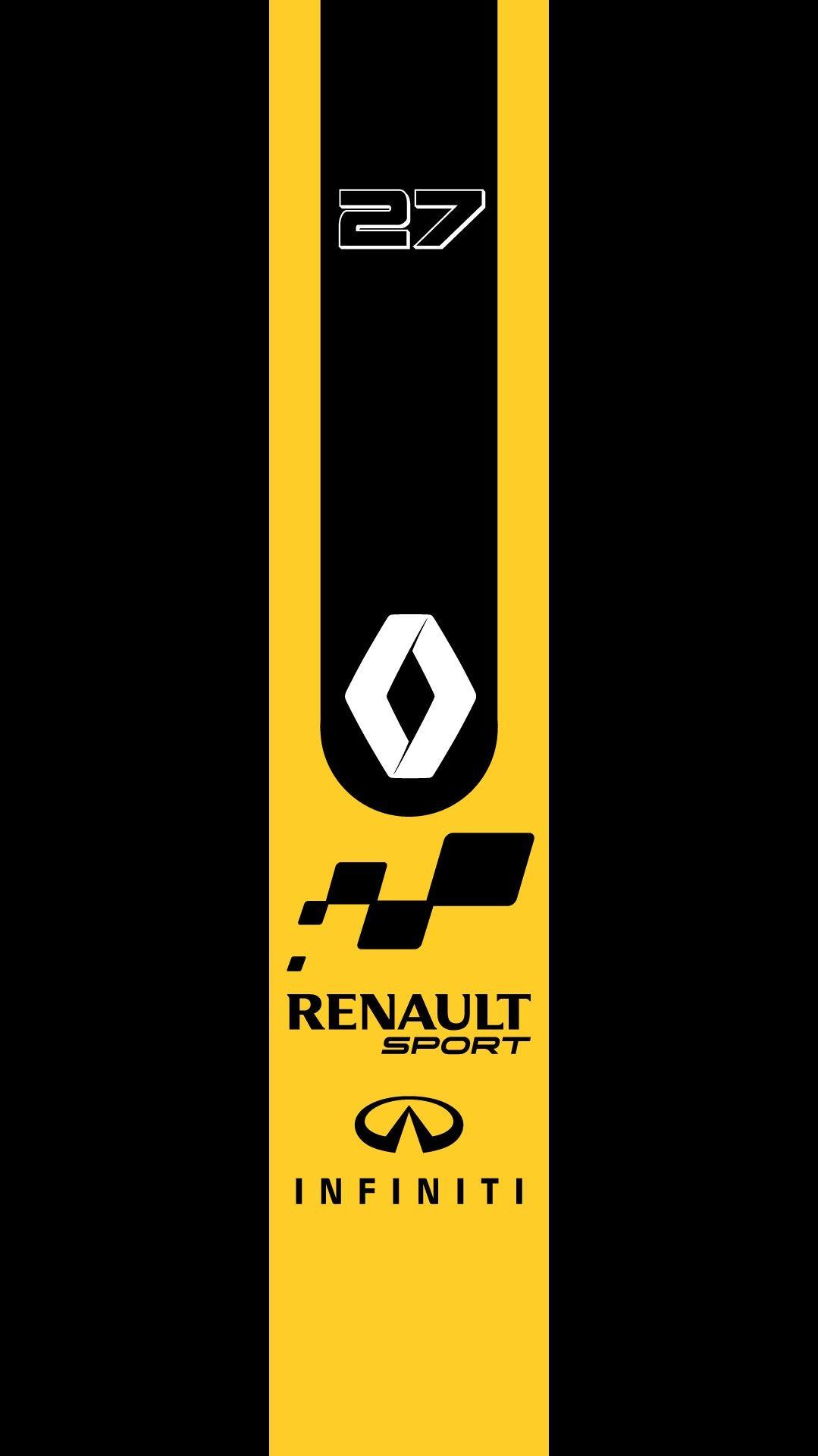 Support Daniel Ricciardo In Renault 2019 Logotipo Automotivo