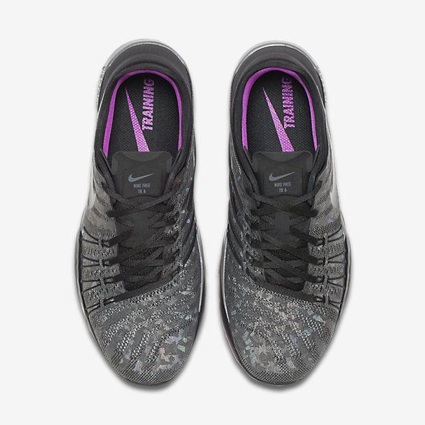 nike free tr 6 metallic sneaker