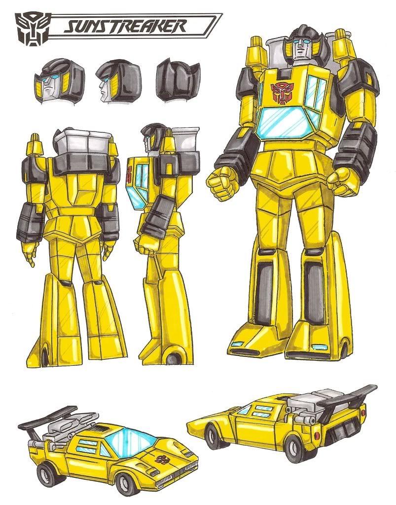 Sunstreaker / Мерцатель / Промінець - Transformers.kiev.ua ...