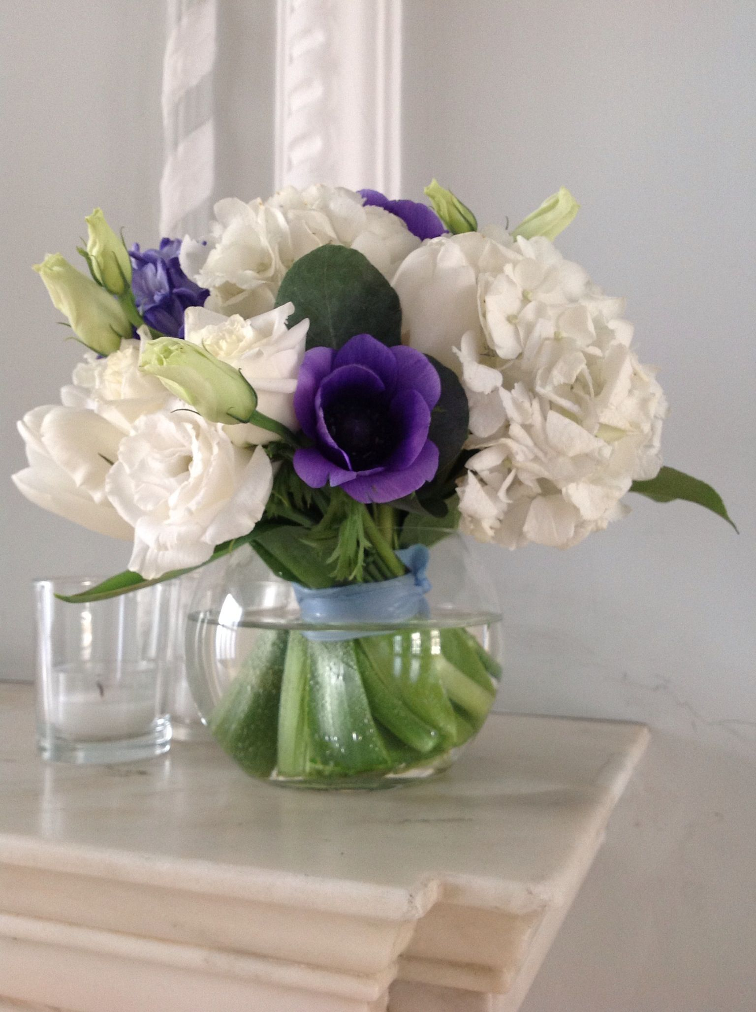 Blues And Whites Flowers Pinterest Flowers