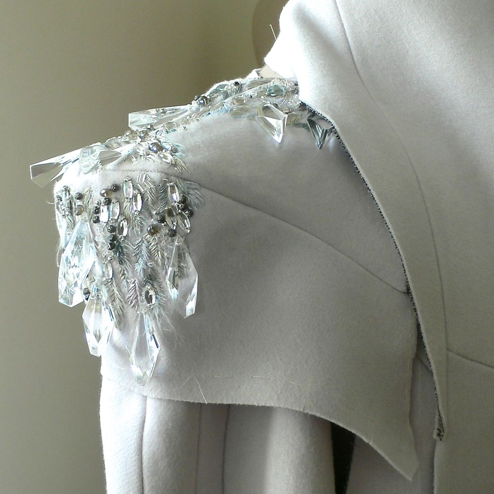 AOF MasterClass 2012 - Student Nika Amy Tang - Embroidery ...