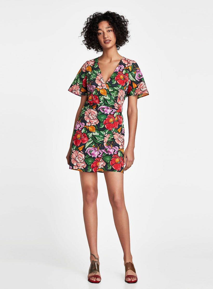 15 Floral Dresses To Upgrade Your Spring Style Cute Wedding Guest Dresses Dresses Guest Dresses [ 1108 x 820 Pixel ]