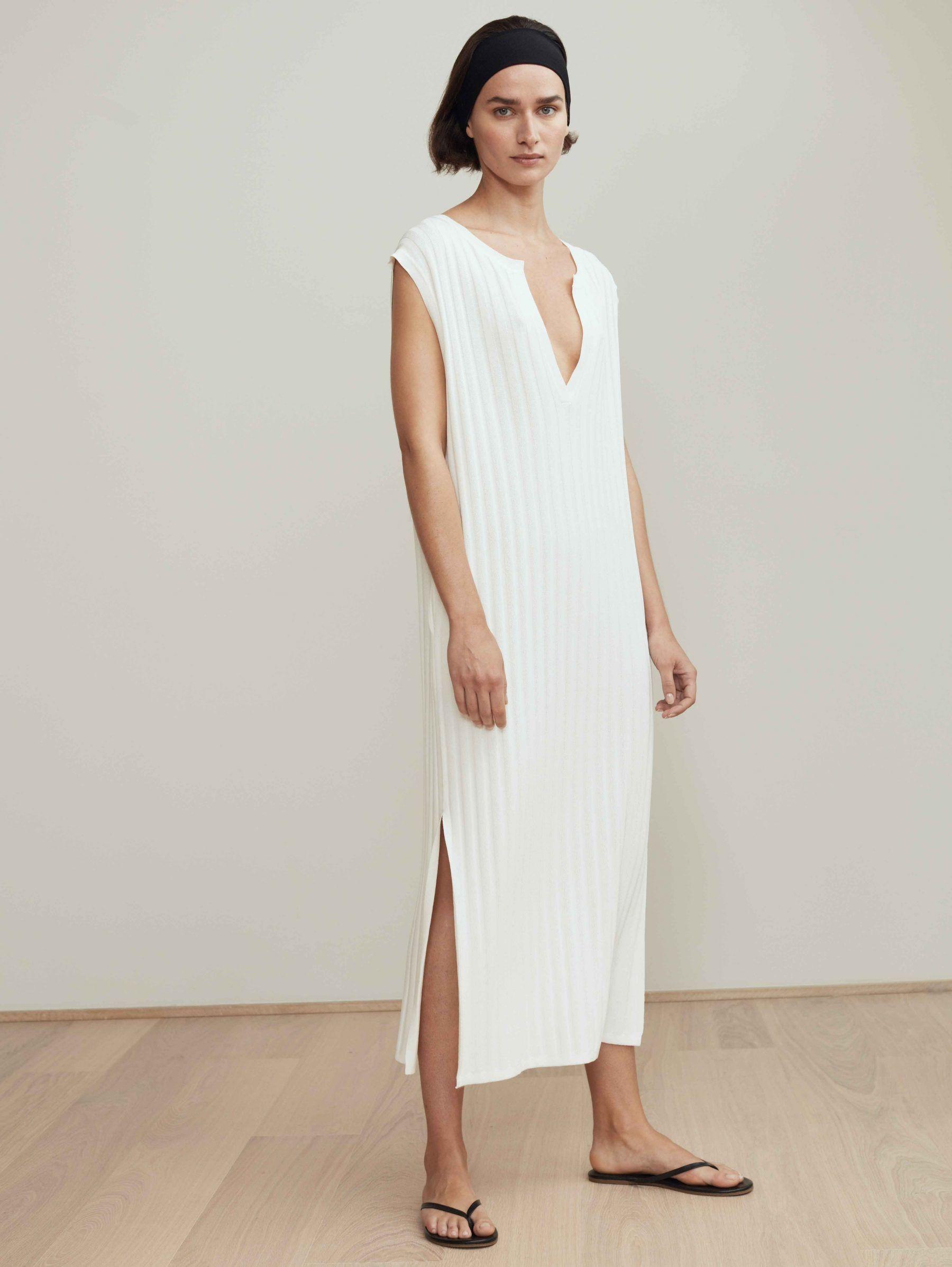 20964c71b35 Bahia dress white - Totême online store