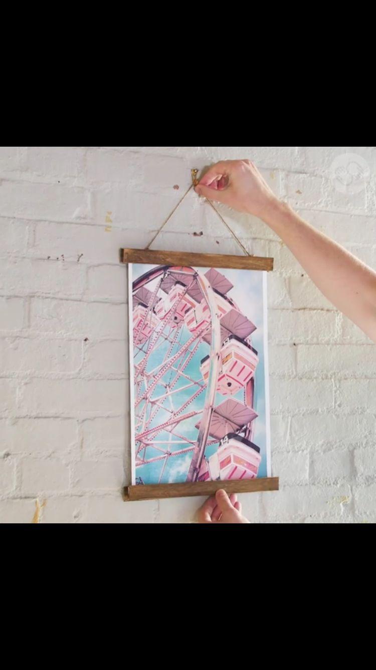 Skillshare: DIY Magnetic Poster Frame https://www.facebook.com ...