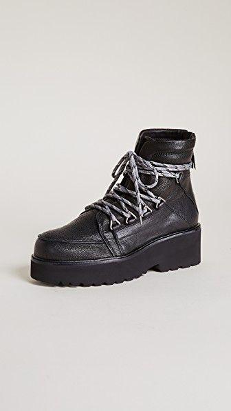 b8513ee5eb1 Stuart Weitzman Below Deck Platform Hiking Boots