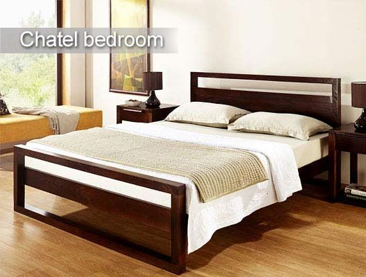 One of the most sophisticated beds for your master bedroom.   Elegance redefined.   To buy click - http://www.inliving.com/chatel-king-bed