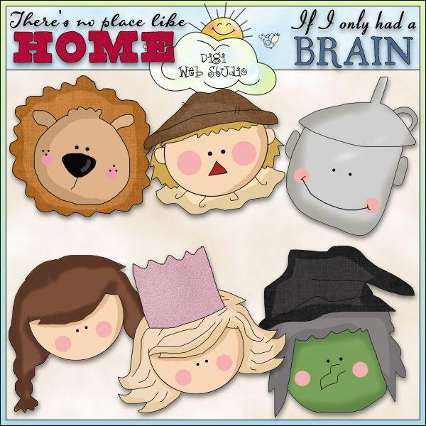 No Place Like Home 1 - NE Cheryl Seslar Clip Art : Digi Web Studio ...