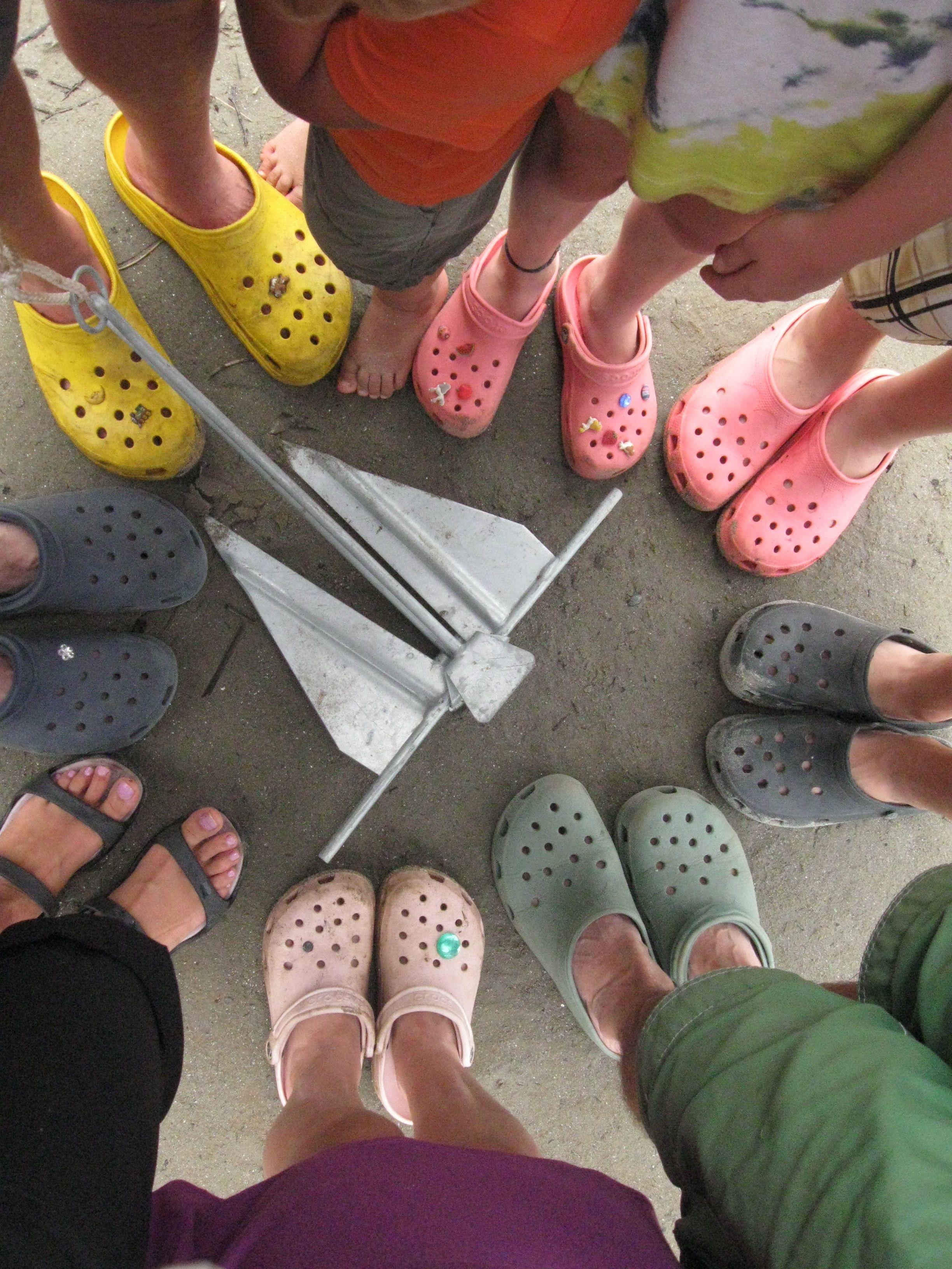 Sure We Wear Crocs Camping Crocs Shoes Crocs Stylish Shoes
