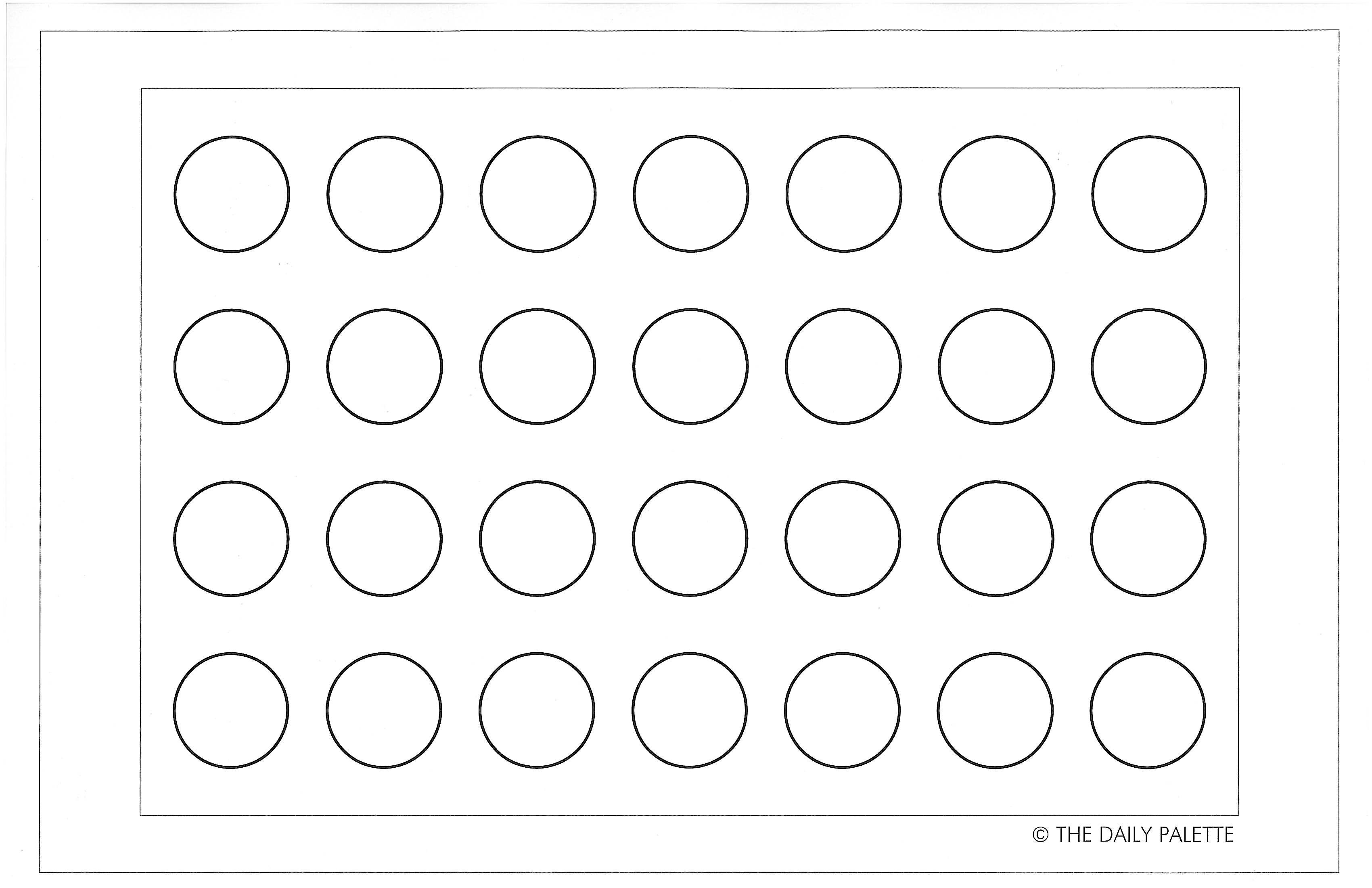 Macaron Templates To Print Off  Maybe I Can Toss My Tired Old