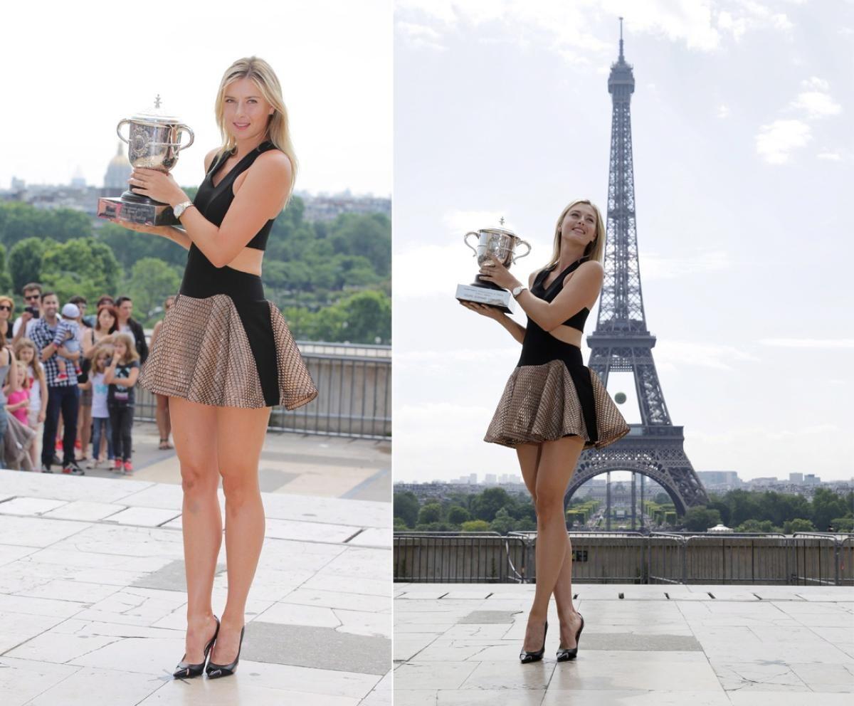 Resultado de imagen para sharapova en paris