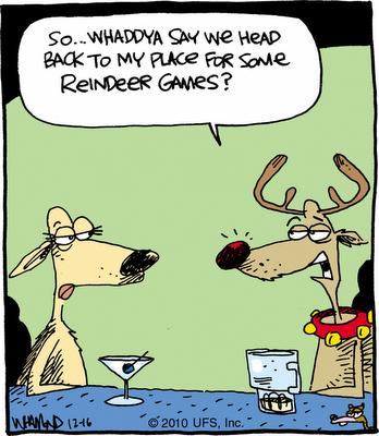 Christmas Humor: Play Some Reindeer Games?