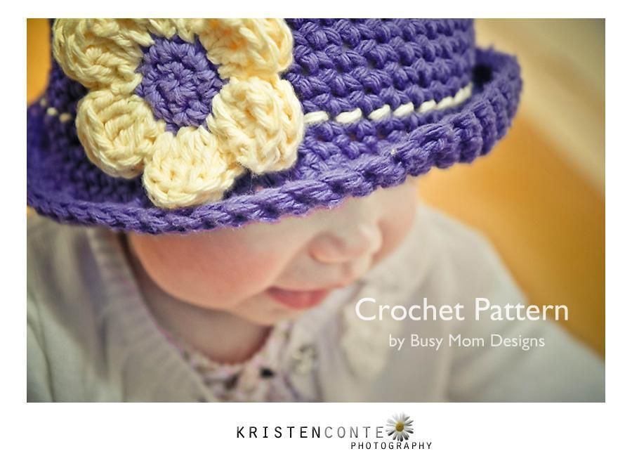 Daisy Cloche -Easy Hat for All Ages | Someday. | Pinterest ...
